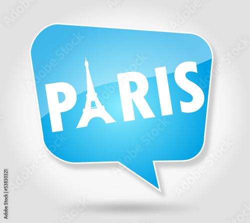 Paris  : Bulle Bleue