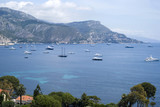 The bay of Villefranche and Cap d'Ail in the background