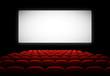 Salle de cinéma vectorielle 1