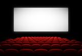 Fototapeta Salle de cinéma vectorielle 1