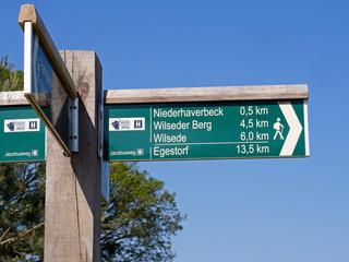 Lüneburger Heide - Wanderwege