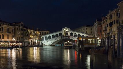 Rialtobrücke by Night II