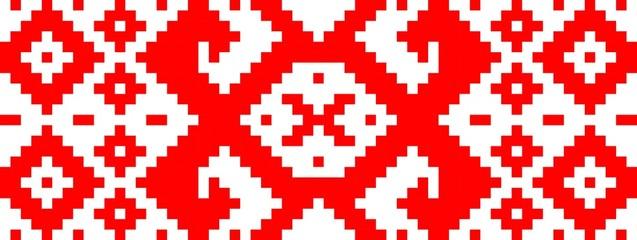 Belarusian flag pattern;