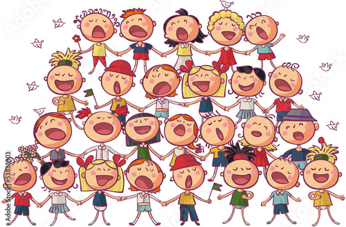 children chorus - 53838303