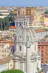 Up view of Rome