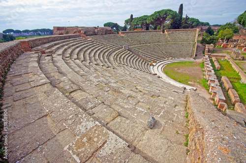 Roman ancient theater
