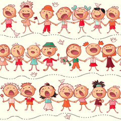 happy chorus