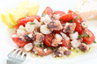 healthy octopus salad- traditional dish from Portugal-Santa Luzi