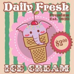 ice cream - elefante