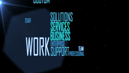 Business Solution Words