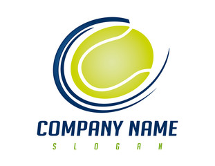 tennis ball logo