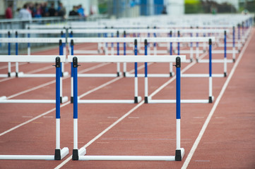 empty hurdle
