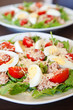 Salad With Tuna, Eggs and Vegetables