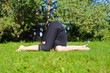 Karnapidasana - Ear Pressing Pose