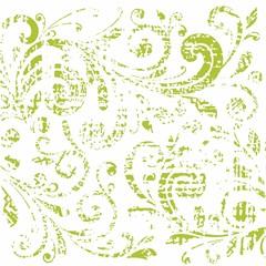 Floral pattern. Vector vintage background.