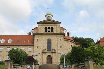 Treppen zu einem Kloster