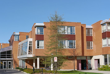college dormitory building