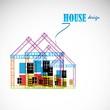 House vector design