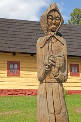 Vlkolinec - picturesque historical village, Slovakia