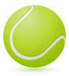 tennis ball vector illustration