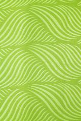 Wallpaper wall green fabric.