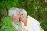 love senior couple
