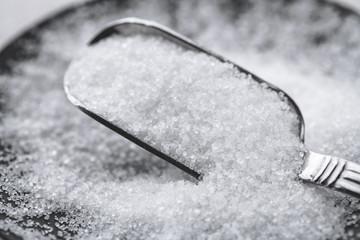 sugar and spoon