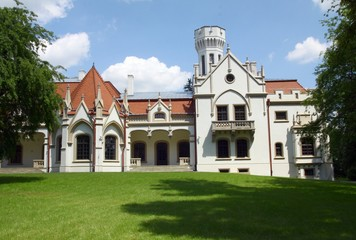 old lordly palace of Sroczynski family in Jaslo