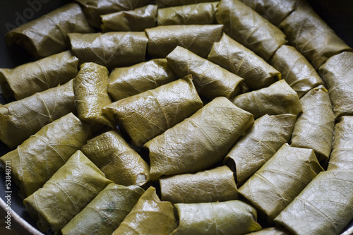 Dolma - Stuffed Grape Leaves