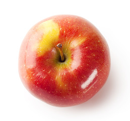 Ripe juicy red apple