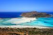 Plage de Balos en Crète
