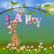 jungle animals for baby girl