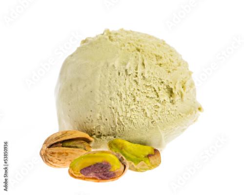 pistachio ice cream scoop