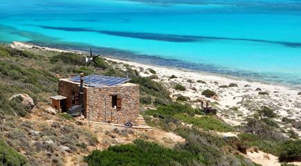 Maison écologique en bord de mer