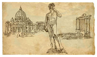 The scene of Italian culture: Rome