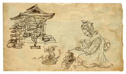 The scene of Japanese culture: Tea Ceremony