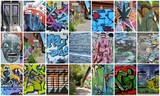 collage...graffiti