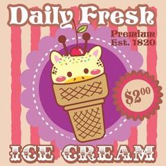 ice cream - girafa