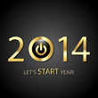 Let's start gold year 2014