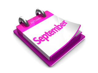 calendar date is september