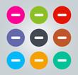 remove - Metro clear circular Icons
