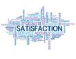"""Nuage de Tags """"SATISFACTION"""" (service client garantie qualité)"""