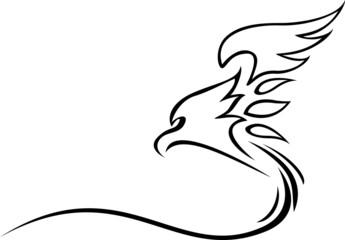 eagle tattoo tribal
