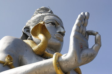 The biggest statue of Lord Shiva in India