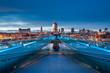 ������, ������: Millennium Bridge e Cattedrale di S Paolo
