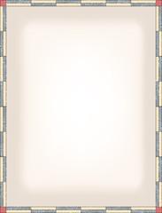 stripped frame