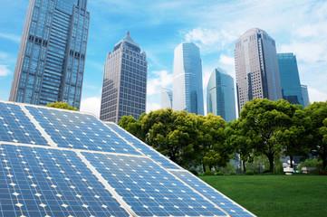 Shanghai Bund skyline landmark ,Ecological energy