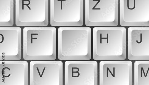 Tastatur Ausschnitt