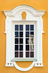 Peterhof Grand Palace exterior - window. Peterhof, Russia