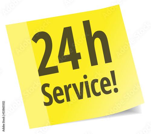 24 h Service!